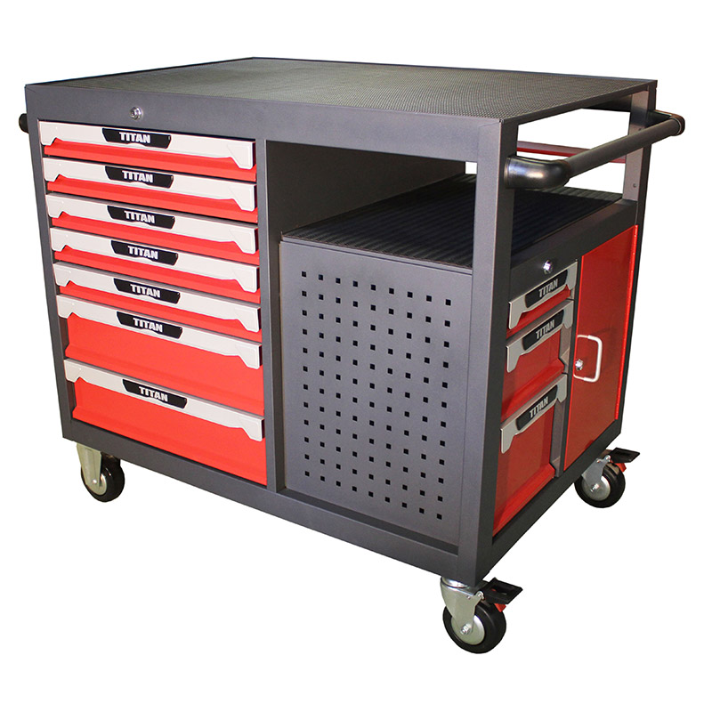 Tool Trolley 10 drawer