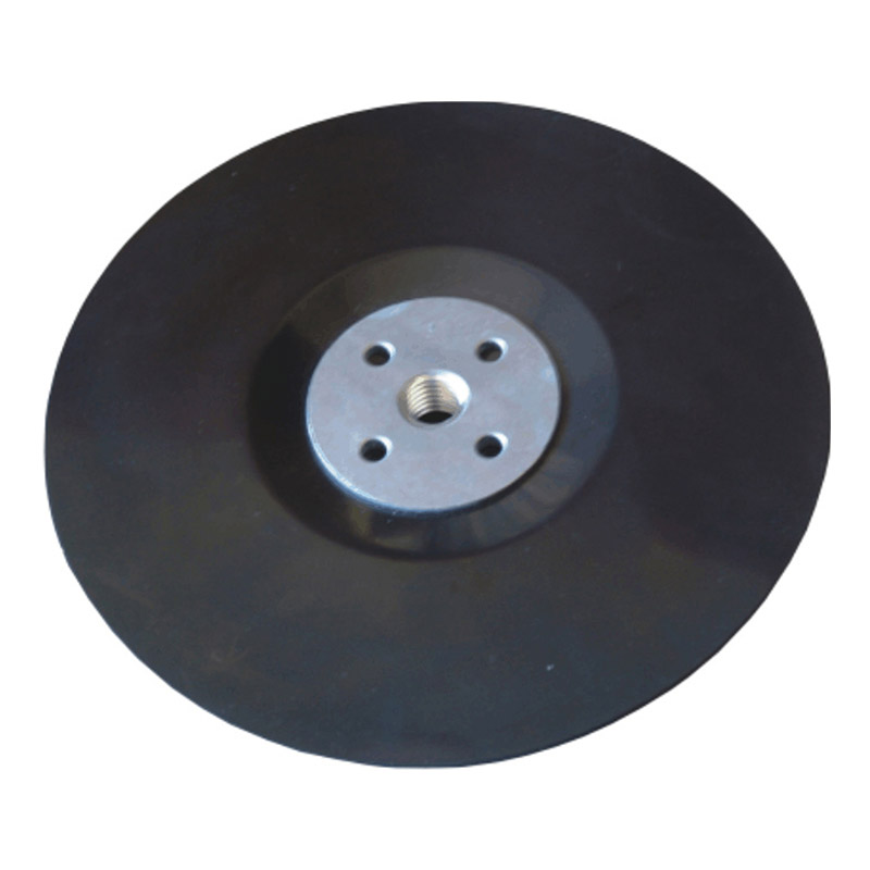Wire Brush Rubber Backing Pad